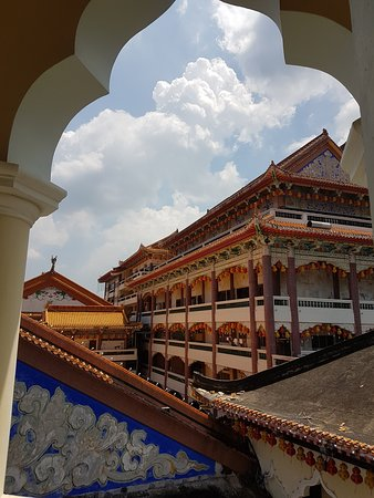 Air Itam, Malaysia: вид с лестницы