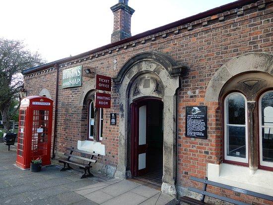 Hadlow Road Station.