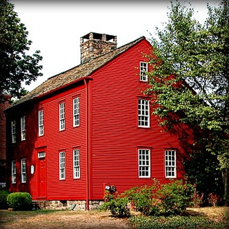 The Darien Historical Society is a museum featuring the 1736 Bates Scofield Homestead and 1834 Scofield Barn, a program and exhibit space.