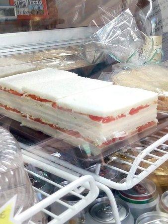 Sandwich de miga triples