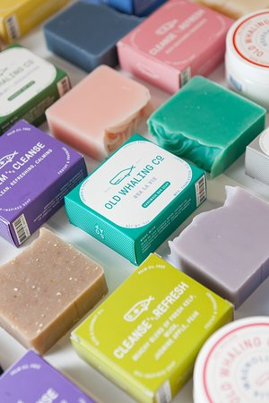 A variety of our bar soaps.