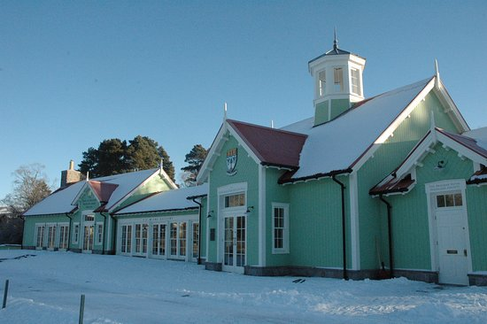Pavilion in the snow