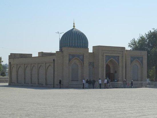 Muyi Muborak Madrasah, home of the ancient Quran