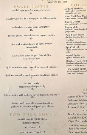 Maven: 'Happy Hour' appetizers.....