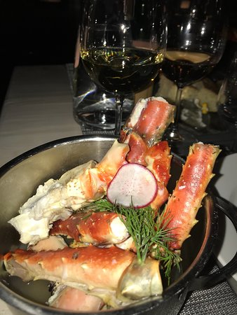 Nice and tasty experience of the king crabs