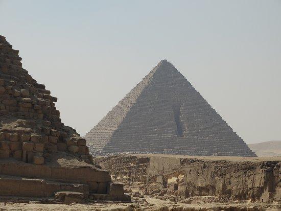 Giza, Mısır: Piramide van Mycerinus