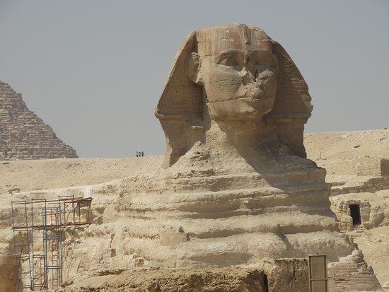 Giza, Mısır: De Sphinx