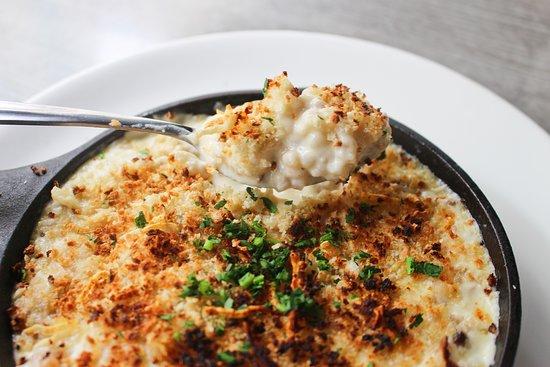 Famous Cauliflower Mac & Cheese at The Brick, American Kitchen & Bar