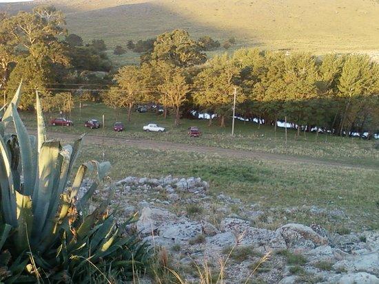 Sierra De la Ventana, Argentinië: Vista desde el monolito.