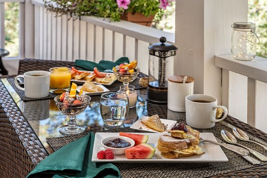 No one ever wants to leave the peaceful surroundings of breakfast on the porch