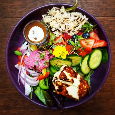 One of our amazing buddha bowls