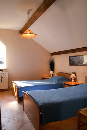 La Guerche-sur-l'Aubois, ฝรั่งเศส: La chambre idéale pour un  confort d'indépendance et de liberté.