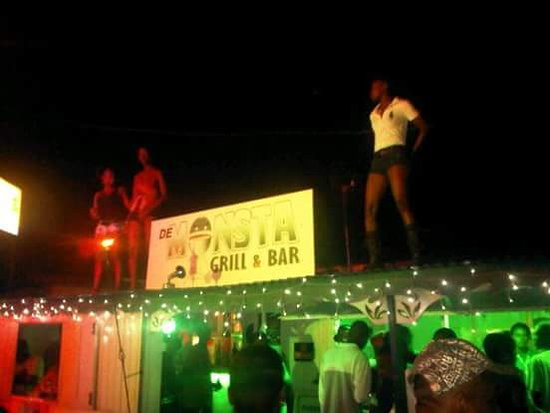 De Monsta Grill & Bar: The only place you can find girls dancing on the roof is Monsta Bar. We have the main attraction