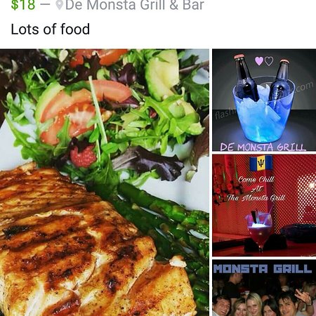 De Monsta Grill & Bar: Food and drinks at reasonable prices
