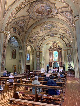 Interno a navata unica