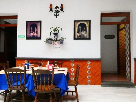 Restaurante El Antiguo Cazador: 内装