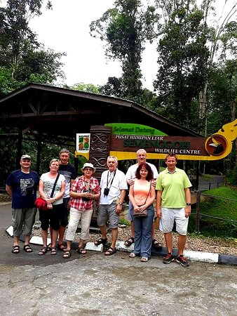Semenggoh Wildlife Centre with Ooo Haa Tours & Travel.