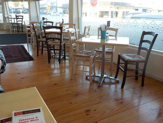Kilim Cafe: Restaurant interior