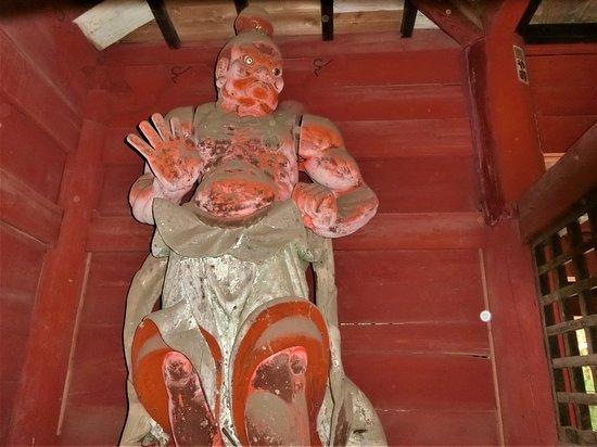 表側の仁王像
