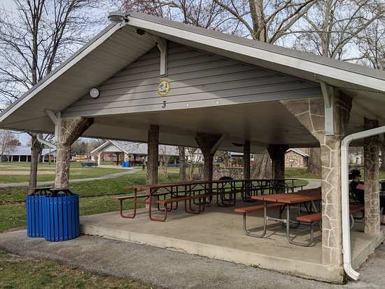 Boonsboro, MD: One of several (we counted 5) pavillions
