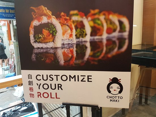 Chotto Maki: Customize Your Roll