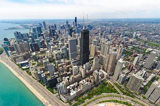 360 CHICAGO observasjonsdekkeopptak...