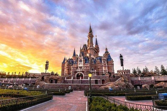 上海迪士尼乐园的四星级酒店提供接送服务和2晚住宿