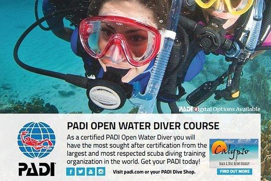 PADI开放水域潜水员课程(3天)