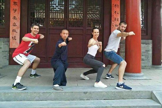 从郑州到少林寺的私人旅游,包括功夫课和师父