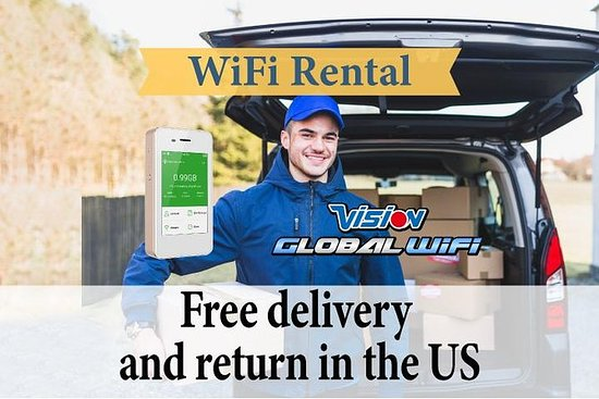 菲律宾的WiFi租赁 - 免费送货和返回美国的任何地方
