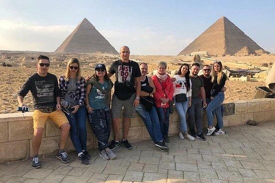 Full-Day Giza Pyramids og Cairo Tour