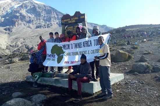 6 días Kilimanjaro escalada ruta...