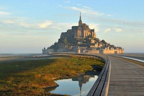 一日游与当地司机Mont Saint-Michel和Cancale从圣马洛...