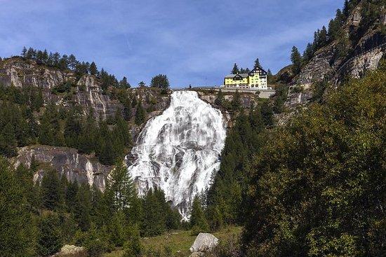 探索阿爾卑斯山:強大的Toce瀑布