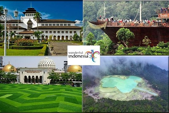Bandung Private City Tour med guide...