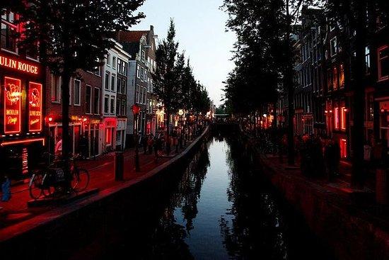 Rotlichtviertel von Amsterdam Interaktive Selbstführung mit mobiler App: Amsterdam Red Light District 2-Hour Self-Guided Tour