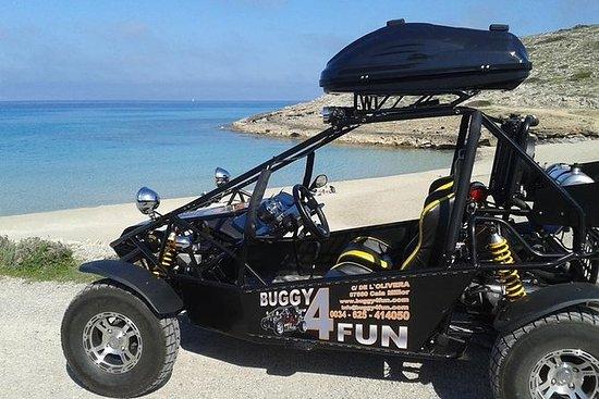 Avec Buggy 4 Fun, Cala Millor...