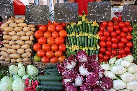 Tour del mercato privato, pranzo o