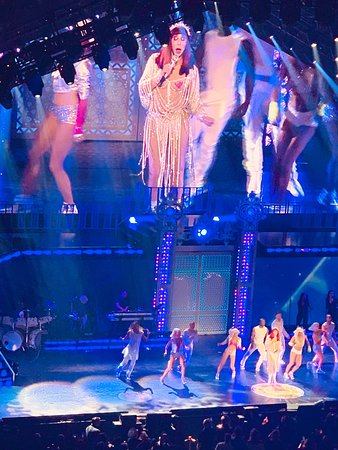 Quite the Vegas show!