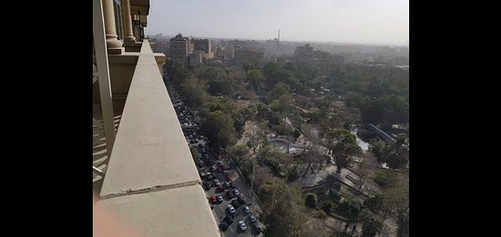 Four Seasons Hotel Cairo at the First Residence: View from room no. 1912 - premier room