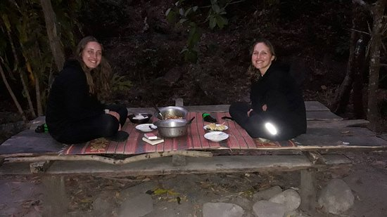 Would you like to have dinner with us in the jungle without eletricity and no phone signal