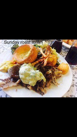 Roast dinners served every Sunday