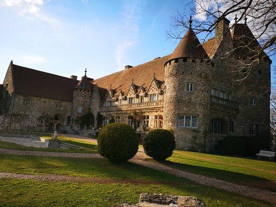 Hattonchatel Chateau: Vue du château de jour
