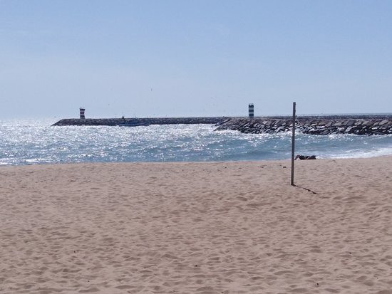 beach and marina entrance