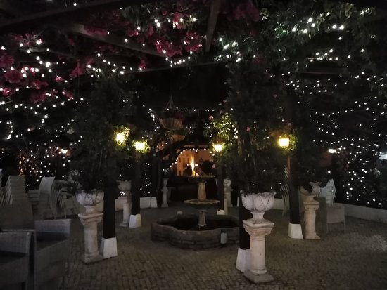 outside area at night
