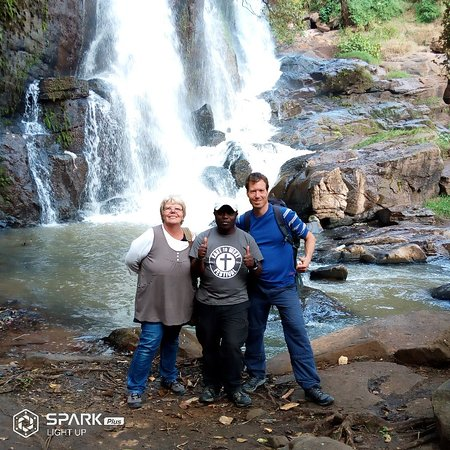 Walking tour to the forest and water falls