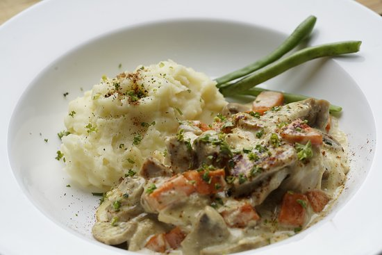 Creamed Mushroom Chicken- a real crowd pleaser and truly a must try.