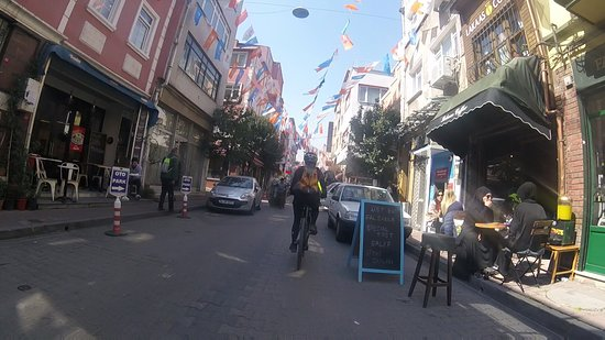 Balat - the colourful traditional Jewish Quarter of Istanbul. Liam Neeson fans may recognise it from the car chase in Taken 2!