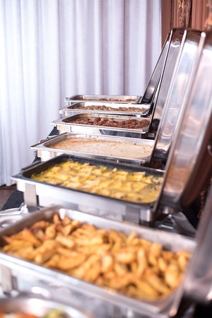 Buffet table - Hot food part