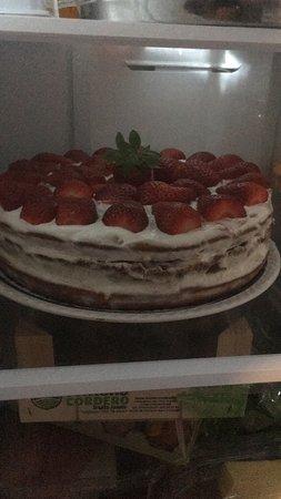 Nuestra tarta de fresas